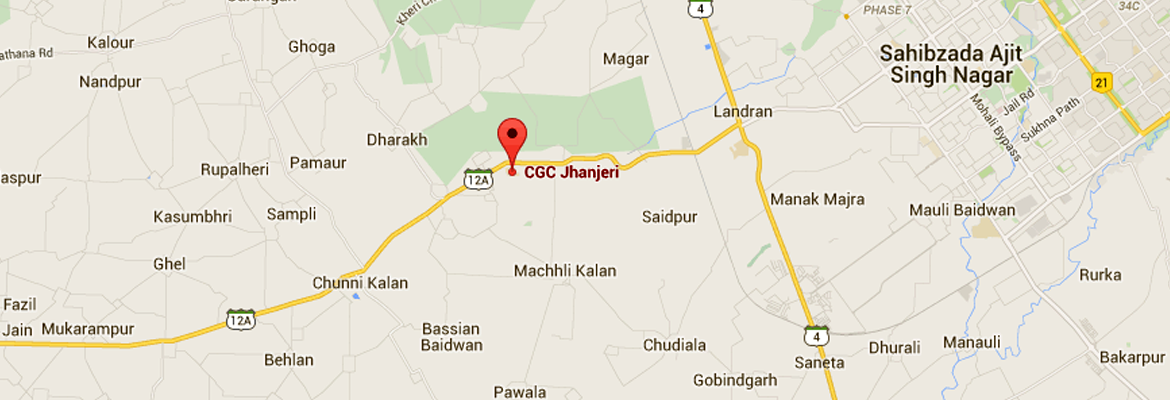 Chandigarh Group of Colleges - CGC Jhanjeri, Mohali on gppgle maps, topographic maps, ipad maps, web mapping, android maps, stanford university maps, yahoo! maps, google search, satellite map images with missing or unclear data, search maps, google chrome, goolge maps, iphone maps, route planning software, google translate, google voice, aerial maps, google docs, online maps, google moon, waze maps, google map maker, google mars, google sky, google goggles, gogole maps, msn maps, amazon fire phone maps, googie maps, googlr maps, road map usa states maps, aeronautical maps, microsoft maps, bing maps,