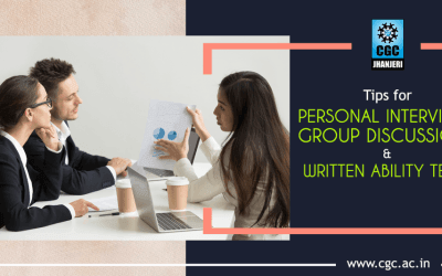 Tips for Personal Interviews, Group Discussions and Written Ability Tests