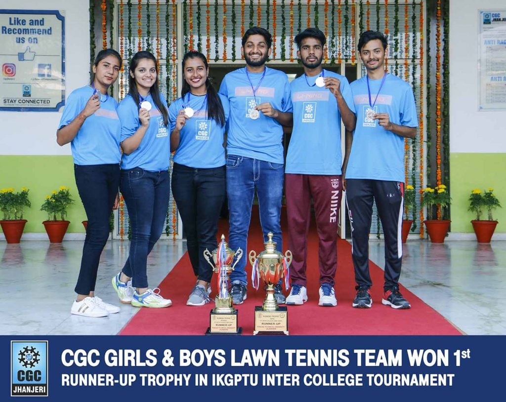 CGc Lawn Tennis Winners