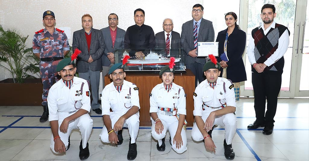 CGC Jhanjeri celebrates Navy Day