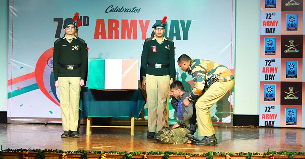 CGC Jhanjeri Celebrates Army Day