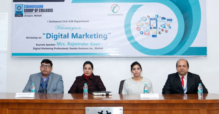 Workshop on Digital Marketing was Organized by i-Technocrat Club