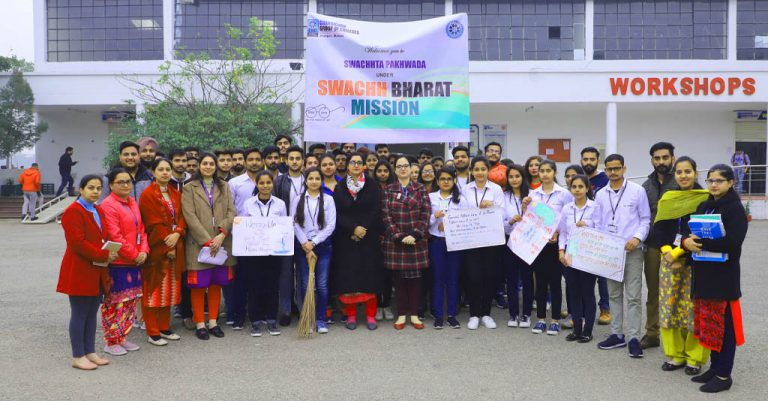 Swachhta Pakhwada (cleanliness fortnight) under Swachh Bharat Mission