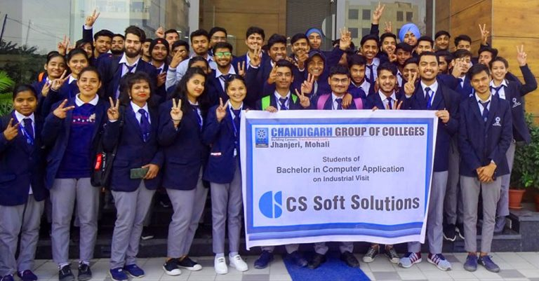 Industrial visit to CS Soft Solutions