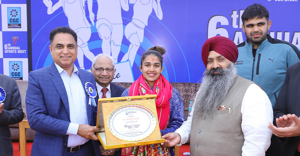 6th Annual Sports meet in CGC Jhanjeri