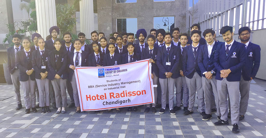 Industrial Visit to Hotel Radisson