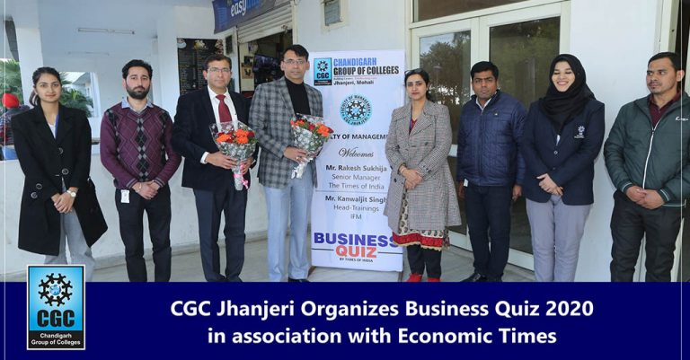 Business Quiz 2020 in association with Economic Times