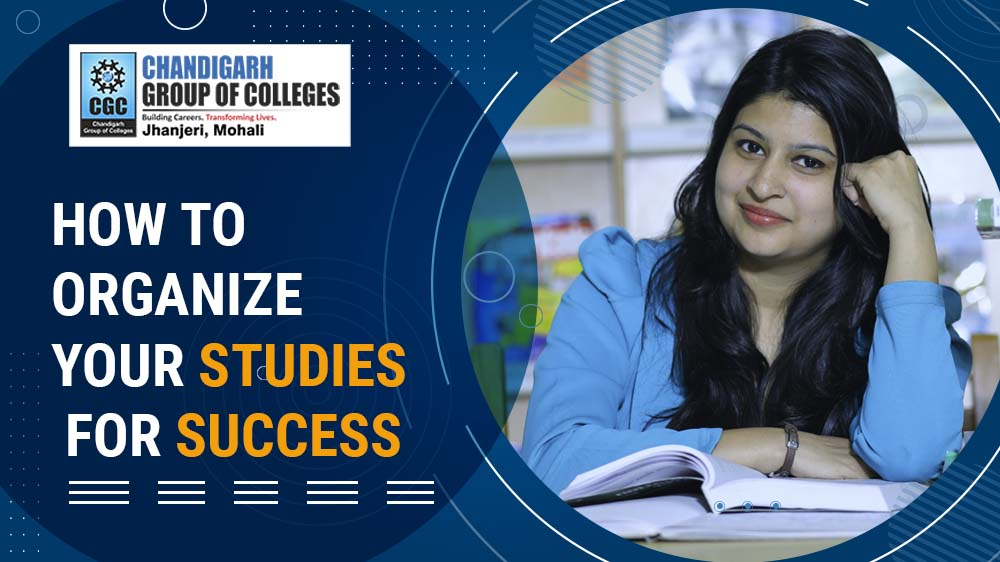 How to Organize your Studies for Success