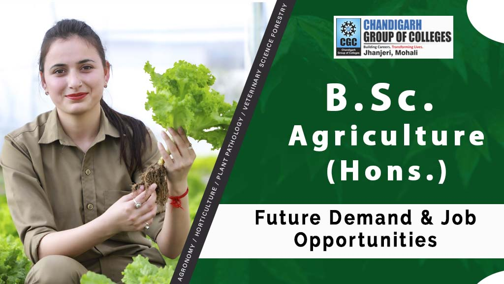 B.Sc Agriculture Future Demand and Job Opportunities