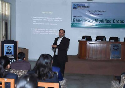 Expert Talk on Genetically Modified Crops by Dr Atul Upadhyay