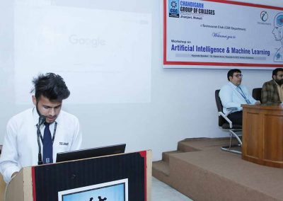 Artificial Intelligence & Machine Learning Workshop